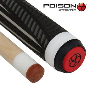 Кий Poison VX⁴ Jump White and Black GTX™ Grip 3PC Пул 7,5oz