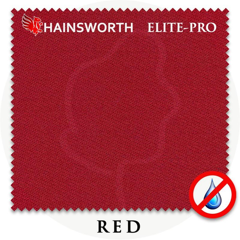 Сукно Hainsworth Elite Pro Waterproof 198см Red