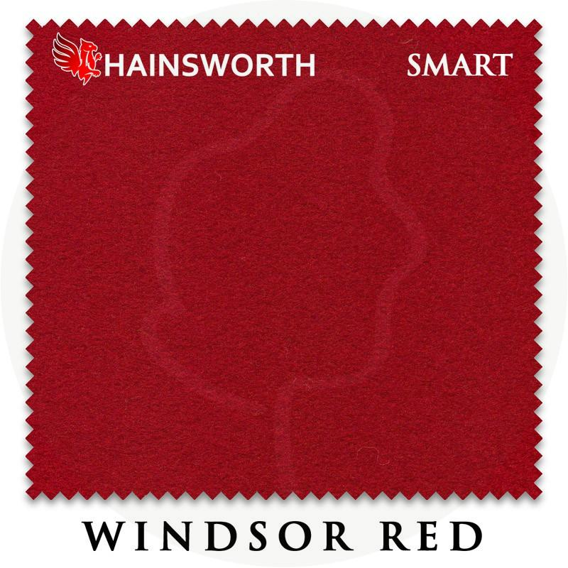 Сукно Hainsworth Smart Snooker 195см Windsor Red
